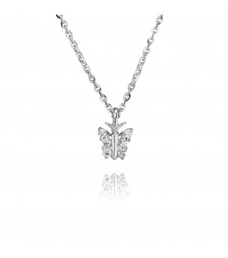 Butterfly Pendant (0.15ct)