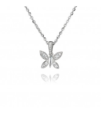 Butterfly Pendant (0.25ct)