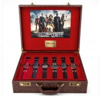 Justice League Heroes Box set Six Police watches Briefcase 14536JS-SET